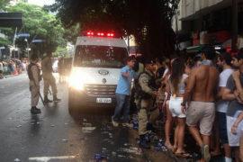 Carnaval deixa estragos nas ruas do Leblon - Crédito: AMALEBLON